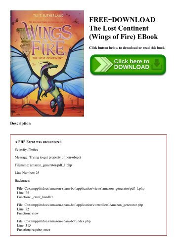 Of download for free ebook wings fire