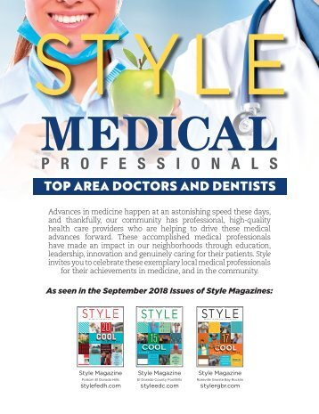 MEDICAL PROS- Style Magazine-Rosevile-Granite Bay- Folsom- Cameron Park- Placerville