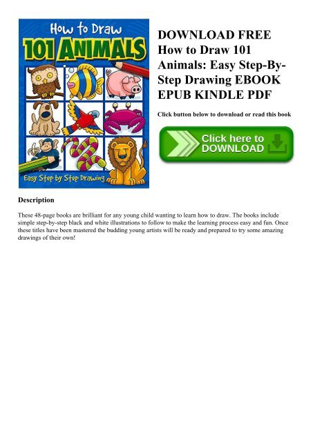 Download Free How To Draw 101 Animals Easy Step By Step Drawing Ebook Epub Kindle Pdf
