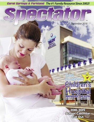 Spectator Magazine Sept 2018