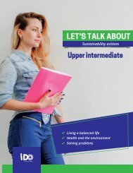 Let´s Talk About B1.3 (Upper Intermediate)