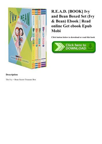 R.E.A.D. [BOOK] Ivy and Bean Boxed Set (Ivy & Bean) Ebook  Read online Get ebook Epub Mobi