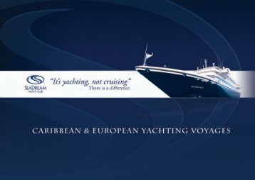 It's yachting, not cruising
