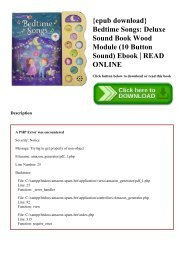 {epub download} Bedtime Songs Deluxe Sound Book Wood Module (10 Button Sound) Ebook  READ ONLINE