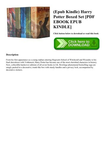 (Epub Kindle) Harry Potter Boxed Set [PDF EBOOK EPUB KINDLE]