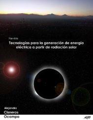 Tecnologías para la generación de energía eléctrica a partir de radiación solar