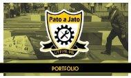 Portfólio Equipe Pato a Jato