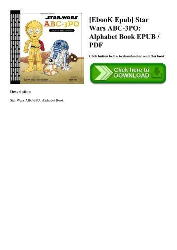 [EbooK Epub] Star Wars ABC-3PO Alphabet Book EPUB  PDF