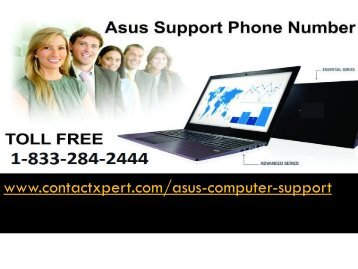 1-833-284-2444 Resolve Complexity Asus Computer Support  Number