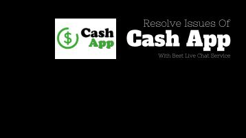 Cash App Live Chat Services - Resolve Your Issue With Experts!!!.jpg