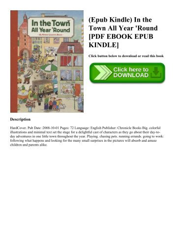 (Epub Kindle) In the Town All Year 'Round [PDF EBOOK EPUB KINDLE]