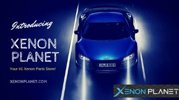 Philips D3s Bulbs - Xenon Planet