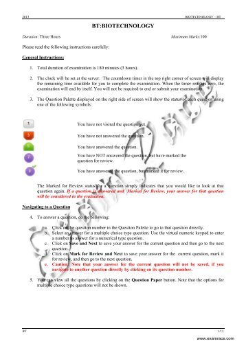 GATE-Biotechnology-Solved-2013