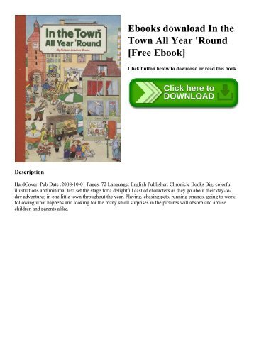 Ebooks download In the Town All Year 'Round [Free Ebook]