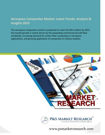 Aerospace Composites Market Latest Trends Analytical Insight And Forecast by 2023