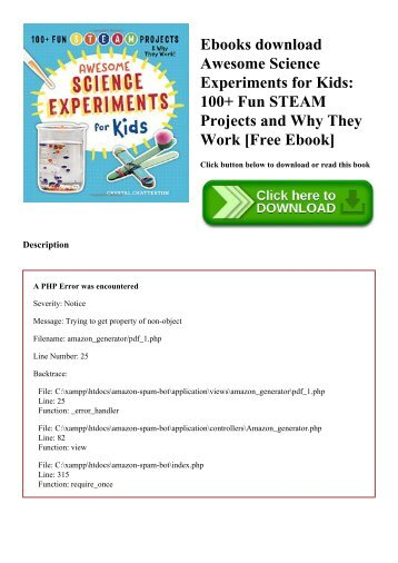 Ebook download free science 101 experiments