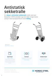 Antistatisk Sekketralle - Nordic Steel Group