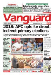 31082018 - 2019: APC opts for direct, indirect primary electins