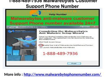 1-888-489-7936 Malwarebytes Customer Support Phone Number
