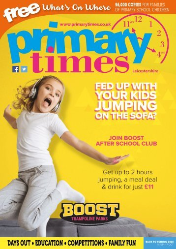 Primary Times Leicestershire Back to School 2018
