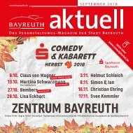 Bayreuth Aktuell September 2018
