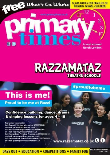 Primary Times North London Back to School 2018