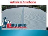 Welcome to www.ozroofworks.com.au