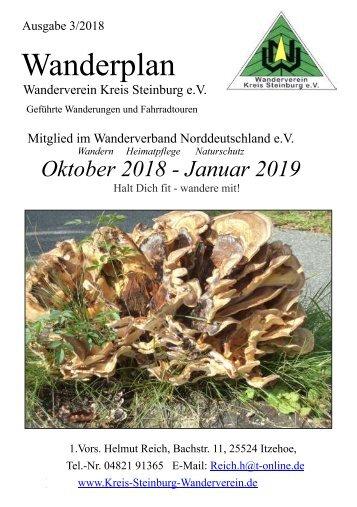 Wanderplan Wanderverein Kreis Steinburg e.V.