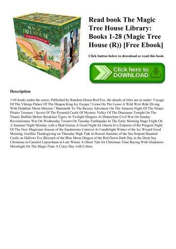 Read book The Magic Tree House Library Books 1-28 (Magic Tree House (R)) [Free Ebook]