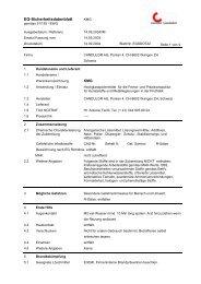 EG-Sicherheitsdatenblatt - Candulor