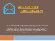 Aol Support Number- 1-800-385-0162 Support Tollfree Number