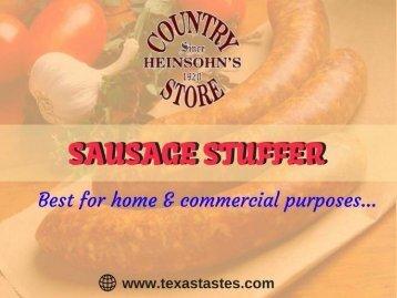 Shop best quality Sausage Stuffer -  Texas, USA