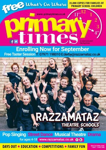 Primary Times Derby Back to School 2018
