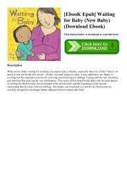 [EbooK Epub] Waiting for Baby (New Baby) (Download Ebook)