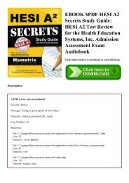 EBOOK $PDF HESI A2 Secrets Study Guide HESI A2 Test Review for the Health Education Systems  Inc. Admission Assessment Exam Audiobook
