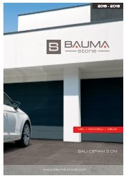 Bauma-Stone : Bau-Ceram 3cm