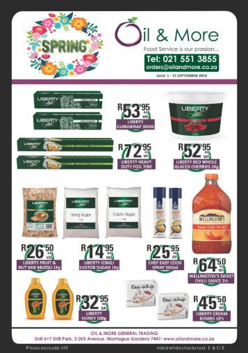 Oil  More Spring Promotion 2018