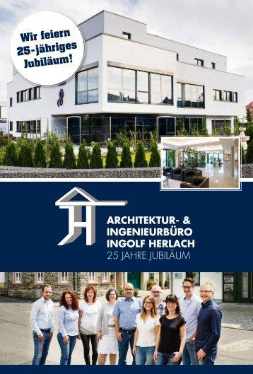 Architektur- und Ingenieurbüro Herlach- 25 Jahre Jubiläum