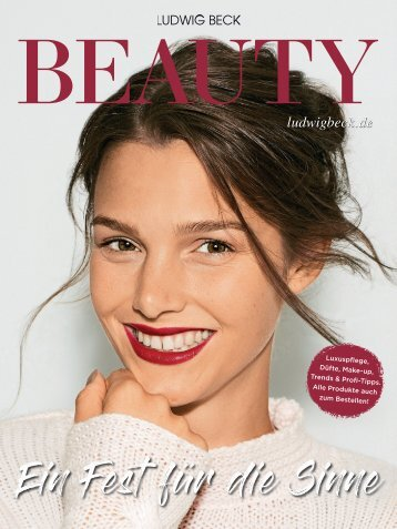 Ludwig Beck BEAUTY Herbst/Winter 2018