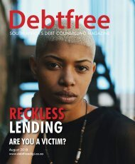 Debtfree Magazine August 2018