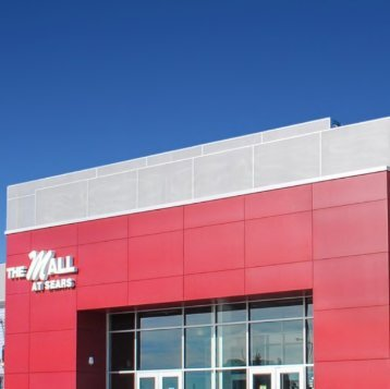 The Mall at Sears also known as Midtown Mall at just 4 minutes drive to the east of Anchorage periodontist Anchorage Midtown Dental Center