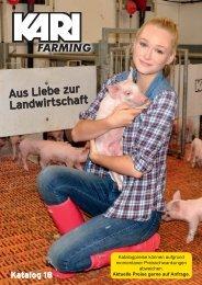KARI FARMING -Katalog 2018