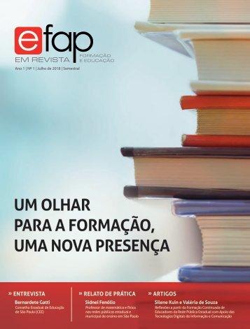 EFAP em Revista | Ano 1 | Nº 1 | Julho de 2018 | Semestral
