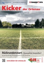 Kicker der Ortenau Winter 2017/2018