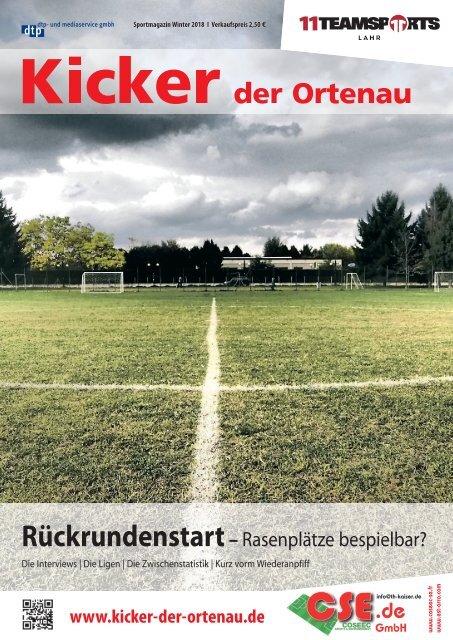Kicker der Ortenau Winter 2017/2018
