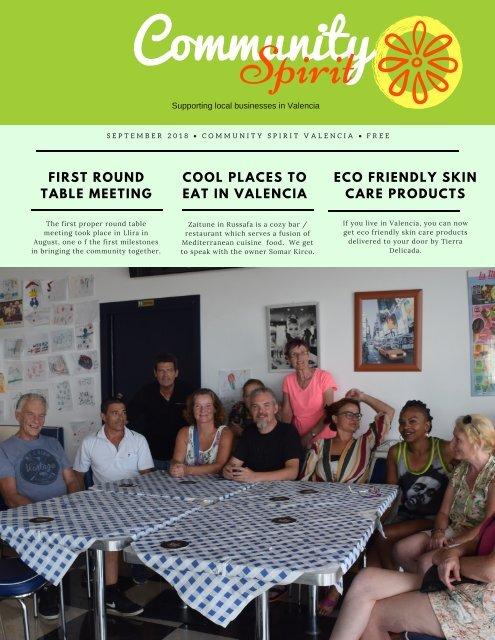 Community Spirit, Sept 2018