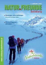 Winter 2010 / 2011 - Naturfreunde Salzburg