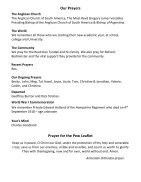 St Mary Redcliffe Church Pew Leaflet - September 2 2018 - Page 5
