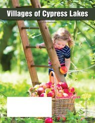 Villages of Cypress Lakes September 2018