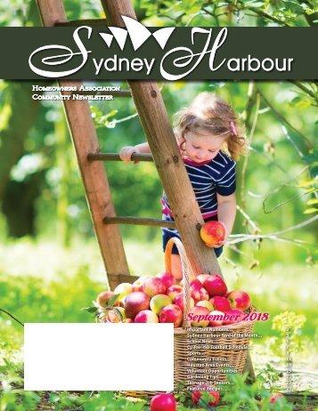 Sydney Harbour September 2018